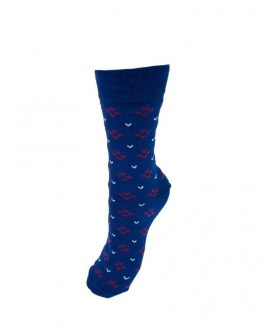 Blue Swallow Socks