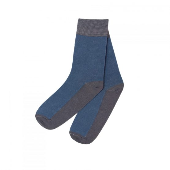 Combination of Two Oceanic & Grey Socks