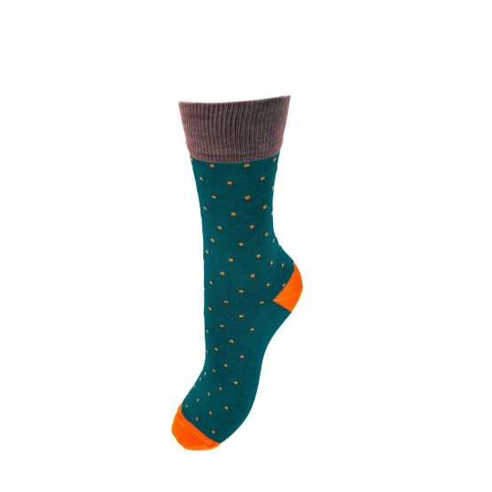 Spot of Style Turquoise Socks
