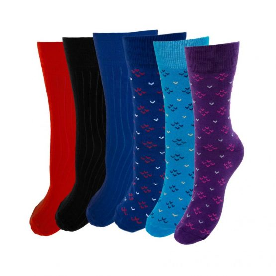 Swallow & Stripe Socks Collection