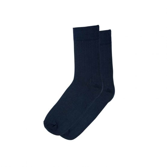 Deep Blue Stripe Socks 1