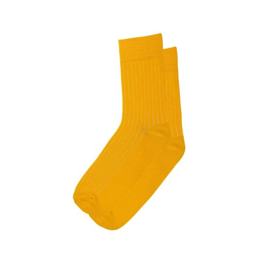 Yellow Stripe Socks 1