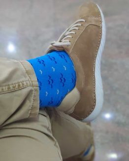 Sky Swallow Socks