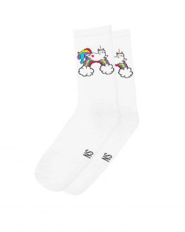 Caticorn socks